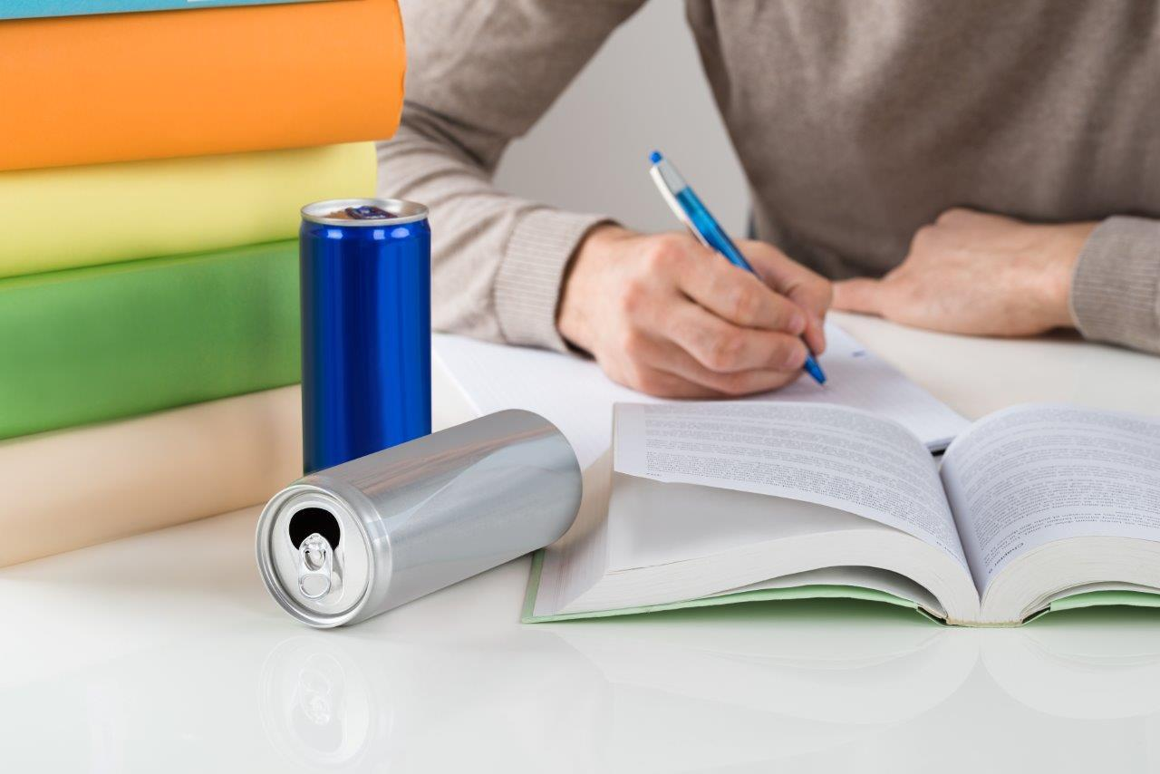 Concerns have been raised over the effects of energy drinks on school pupils