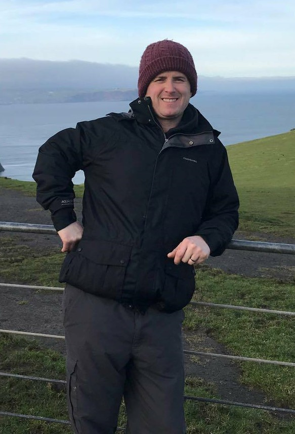 Father of two Neil Jones of Blaenporth near Cardigan is training for the Helambu Nepal Trek and hopes to raise over £4,000 for the Velindre Cancer Centre. PICTURE: Anwen Francis
