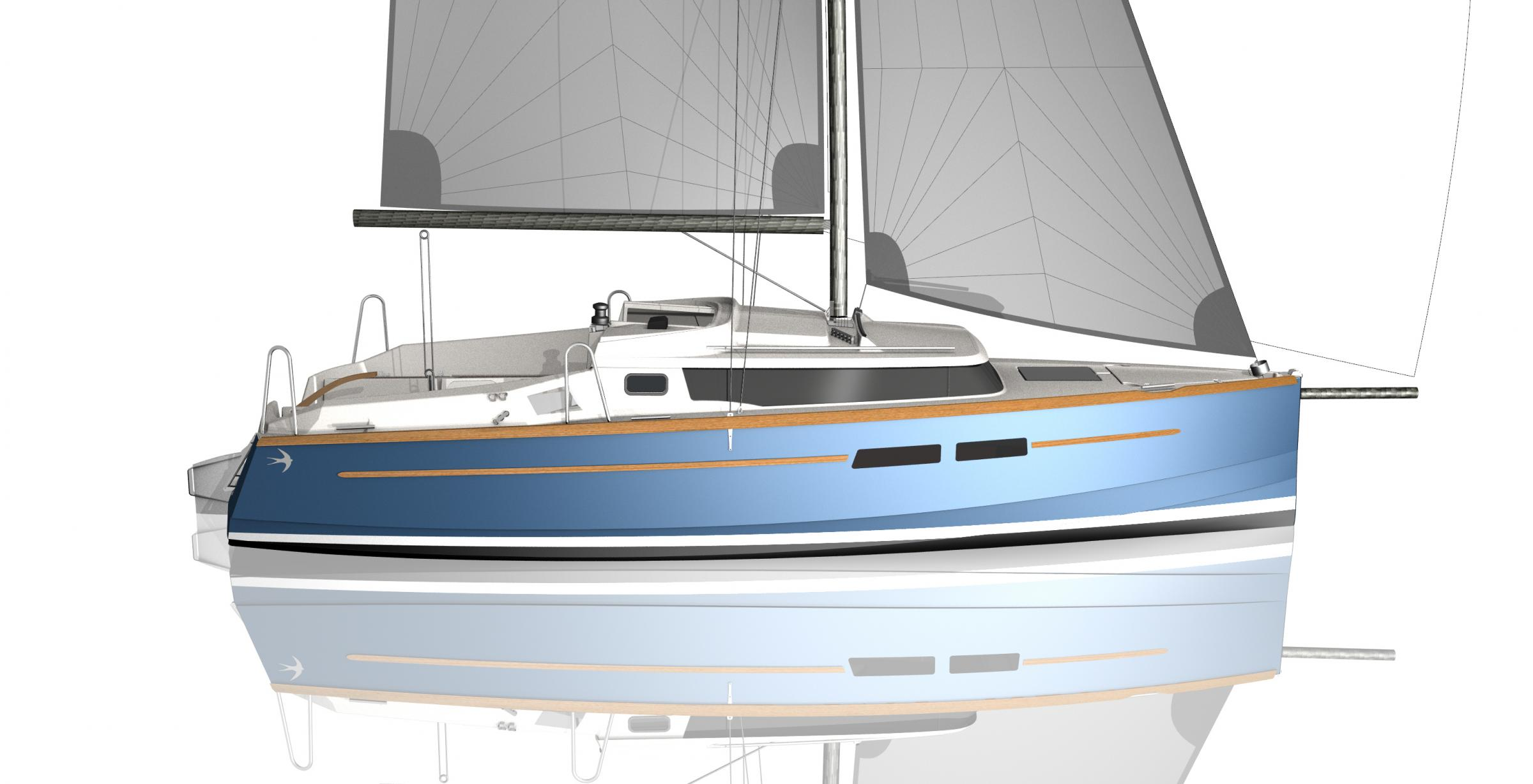 Swallow Yachts' new COAST 250