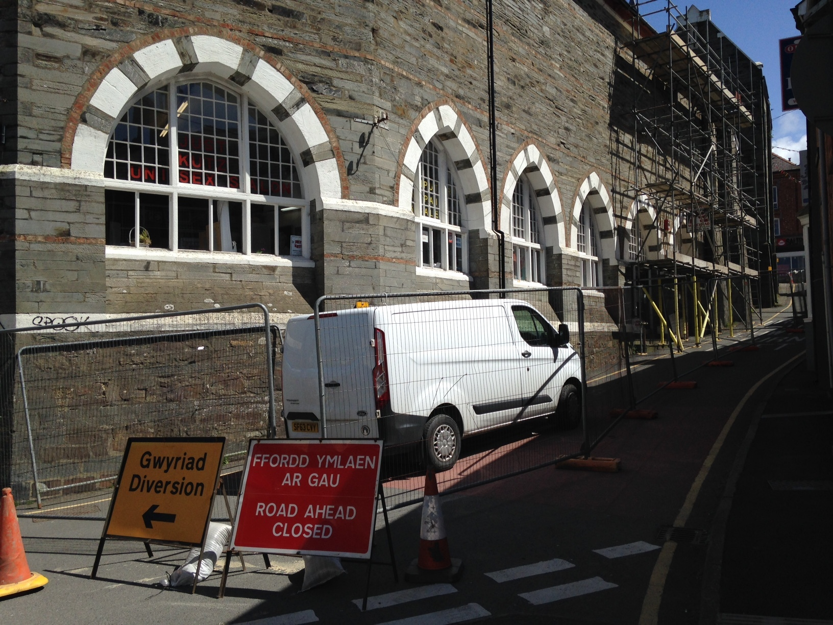 College Row in Cardigan is to be shut for 12 weeks, to the anger of local traders