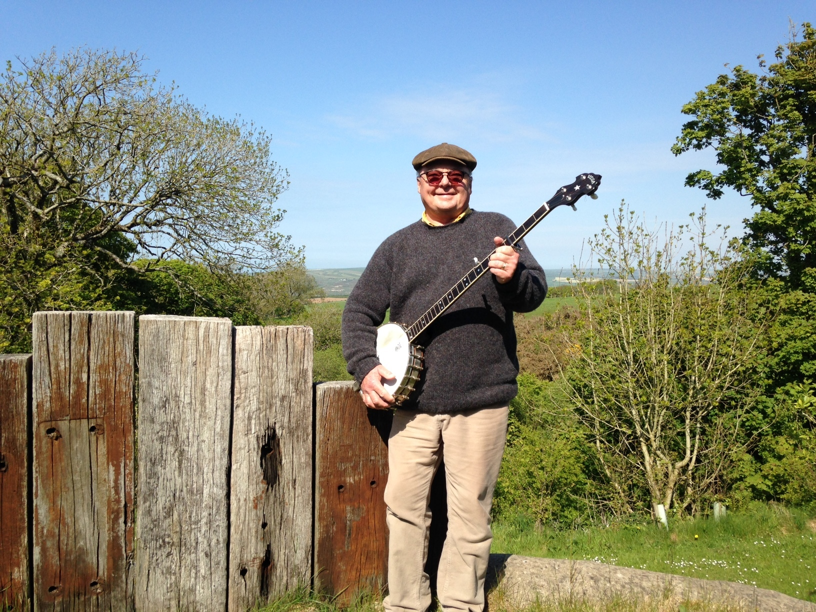 John Rees has recorded his first CD at the age of 70