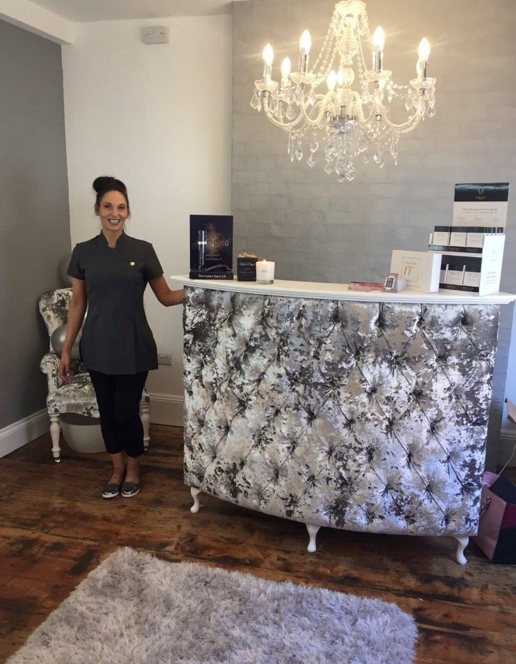 FFion Jones has opened a new beauty salon in Cardigan