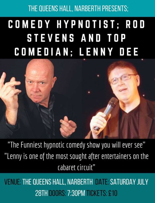 Comedy night with Rod Stevens and Lenny Dee
