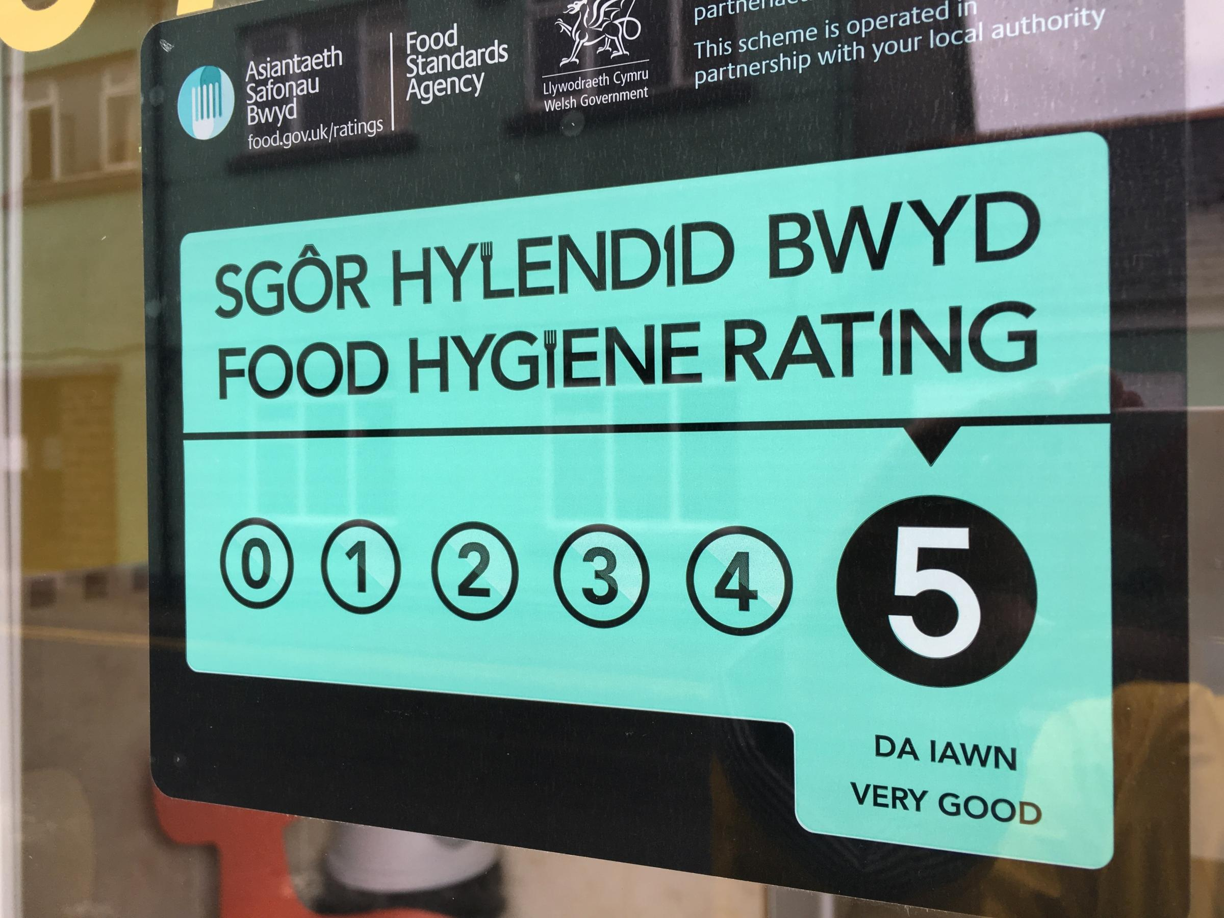 Contractors have been brought in by Ceredigion County Council to cope with a backlog of food premises inspections