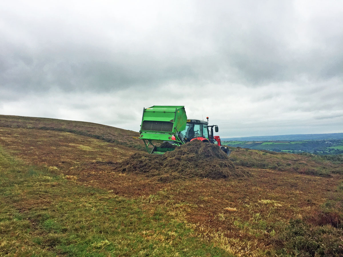 Heathland cutting could provide farmers with a cheaper alternative to straw