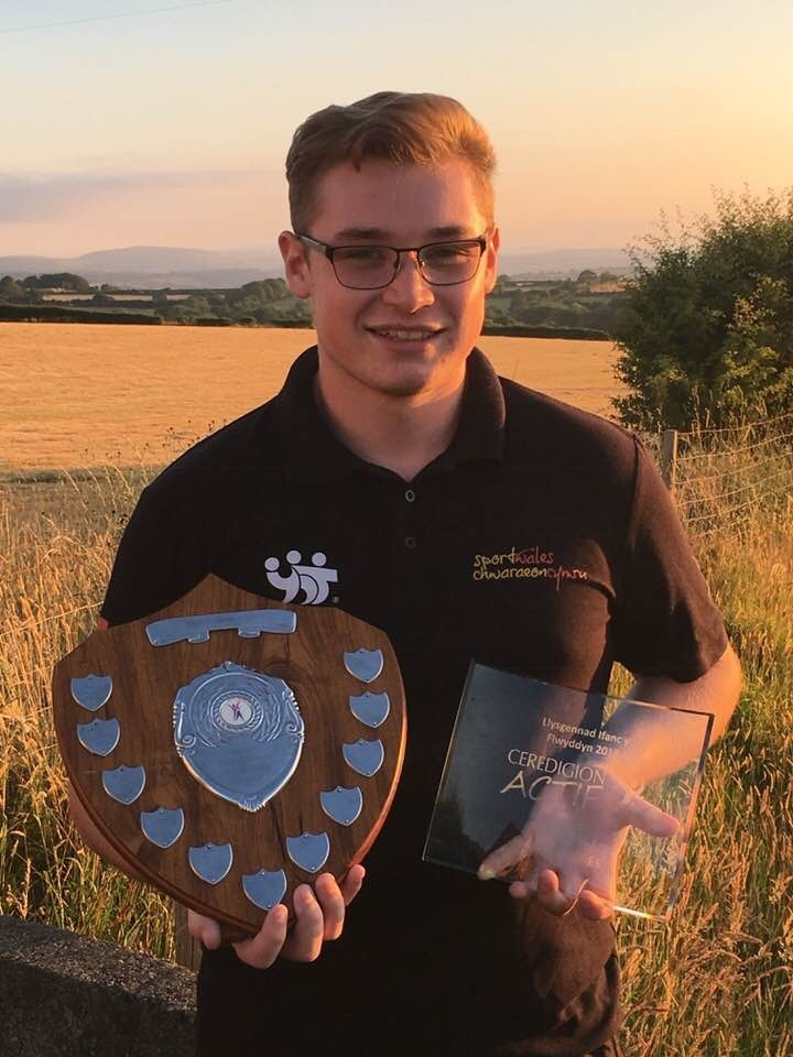 Osian Davies has excelled at the Young Ambassador scheme