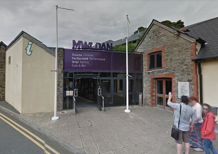 Cardigan Tourist Information Centre is currently sited at Theatr Mwldan. PICTURE: Google Maps