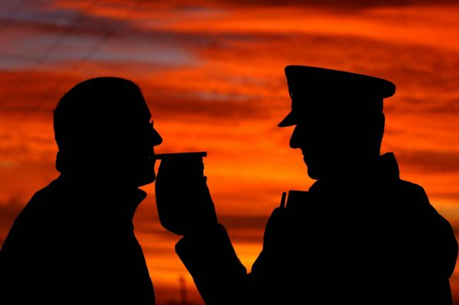 A drink-driver has been banned for 45 months. PA Photo/John Giles