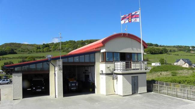 Cardigan RNLI Lifeboat Station. PICTURE: Mike Jones