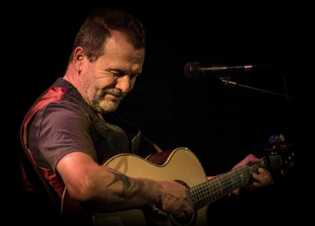Martin Simpson launches Span Arts' 2019 Acoustic Guitar Series in Narberth, PICTURE: Graham Whitmore.