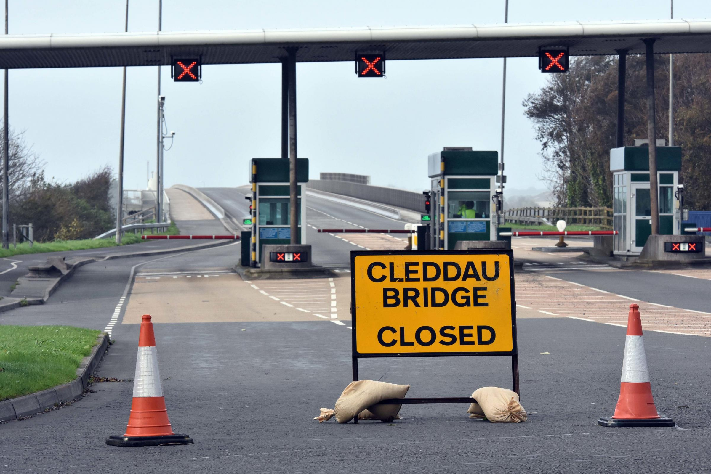 The Cleddau bridge, closed in the past due to high winds. PICTURE: Martin Cavaney