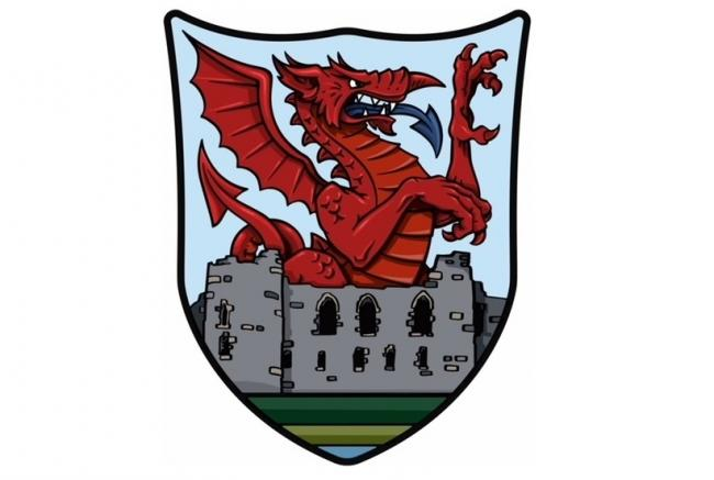 What do you think of the new Haverfordwest High VC school crest, created by two current pupils?