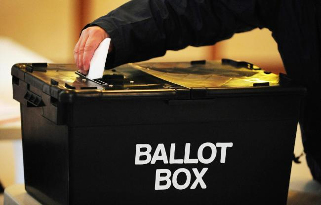 Council outlines how you can vote safely in the May 6 elections Picture: Rui Vieira/PA Wire.