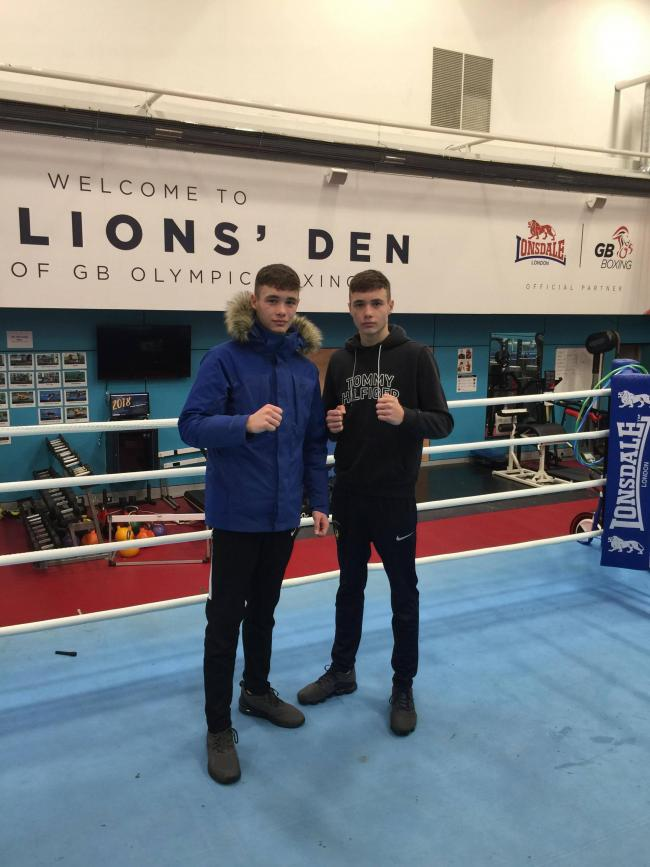 Cardigan ABC's Ioan and Garan Croft