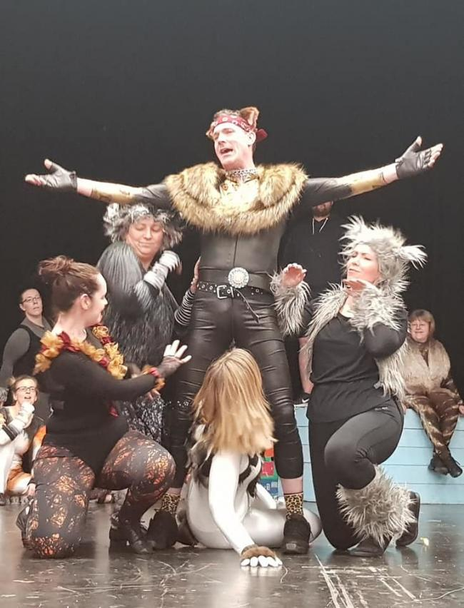 Get e-mailing for your chance to win a family ticket to Fishguard Musical Theatre Society's production of Cats.