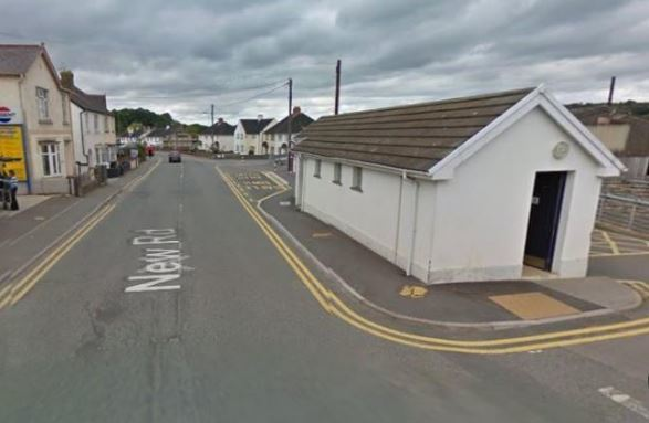 The Mart toilets at Newcastle Emlyn. PICTURE: Google Maps