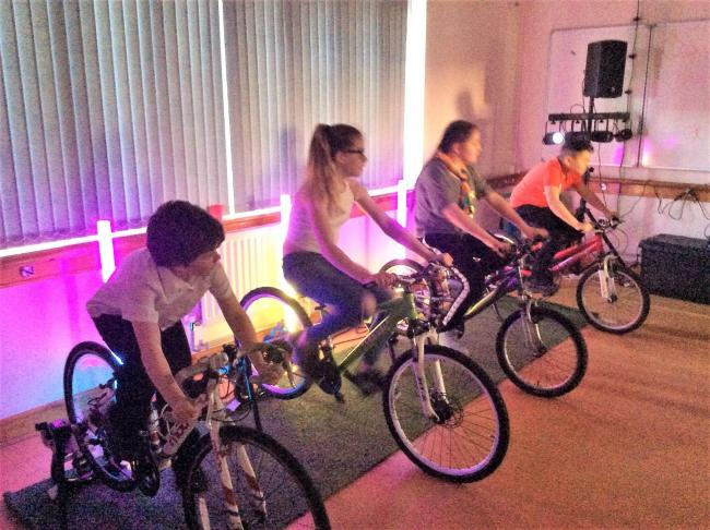 Llandysul Cubs turn to pedal power