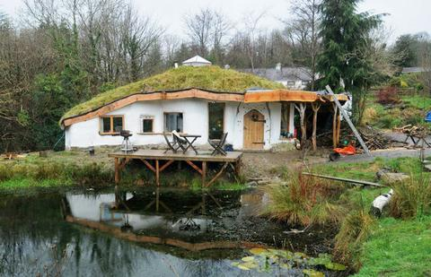 An eco-friendly house near Crymych that was saved from demolition after meeting OPD guidelines
