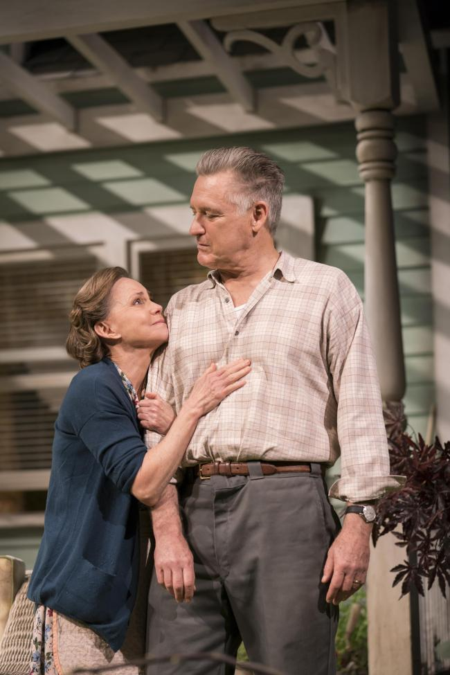 All My Sons by Arthur Miller is being shown at Cardigan's Theatr Mwldan. PICTURE: Johan Persson
