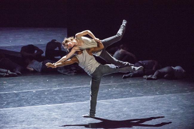 The Royal Ballet will be performing a triple bill to be shown in Cardigan. PICTURE: Tristram Kenton