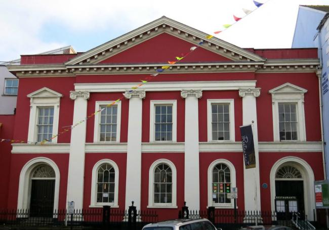Cllr Lloyd had proposed that the heritage centre be located in the Shire Hall, Haverfordwest.