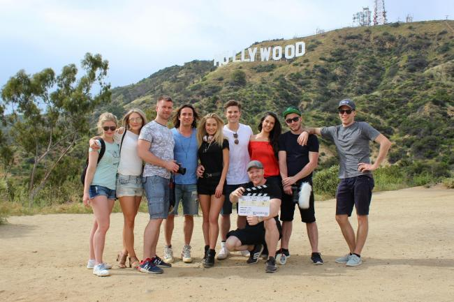 The #FOLLOWME CAST and CREW